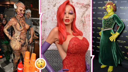 Хелоуин кралицата: всички знаят коя е жената зад тези костюми, но ще я познаете ли вие?
