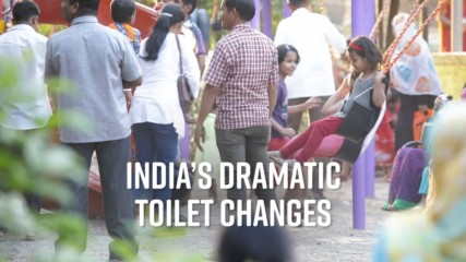India's improved toilet access stats are awesome