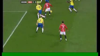Berbatov 3 - 0 - Man Utd V Stoke City