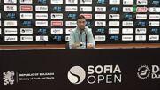Димитър Кузманов преди Sofia Open 2021