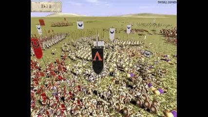 Rome Total War Online Battle #114 Macedon & Rome vs Carthage & Rome
