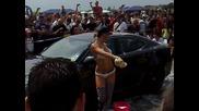 Еротична автомивка - Тунинг шоу 2010