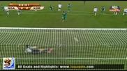 22.06.2010 Нигерия - Южна Корея 2:2 Гол на Якубу - Мондиал 2010 Юар