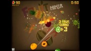 Fruit Ninja: Zen Mode My gameplay