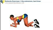 Упражнение за дупе за жени в домашни условия