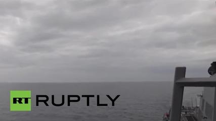 В международни води: Вижте руските Су-24