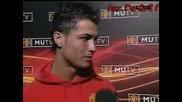 C. Ronaldo - Интервю След Мача С Нюкасъл