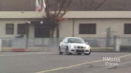 Bmw M3 E46 Amazing Burnout and Drift