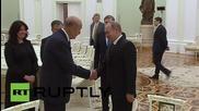 Путин се срещна с бившия президент на Франция Жискар д'Естен
