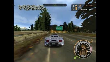 Need for speed Most Wanted - Best time