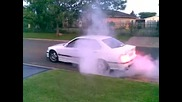 E36 M3 3.2 Streetracer burnout