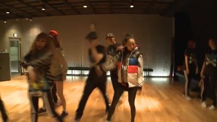 2ne1 - I Am The Best mirrored Dance Practice