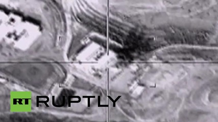 Syria: Russian Sukhoi Su-34 jets target ISIS 'capital' Raqqa