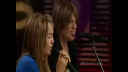 Miley Cyrus and Billy Ray Cyrus - Butterfly Fly Away