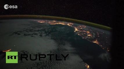 Земята от Космоса - разходка от Канарските острови до Италия