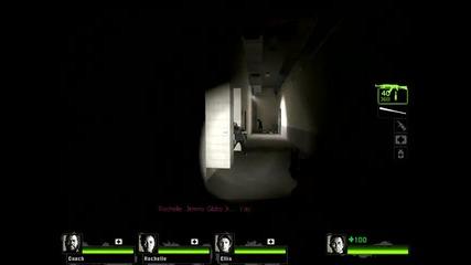 Left 4 dead 2 Как да минем Atrium