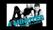 Madonna Feat. Justin Timberlake & Timbalan 4 minutes