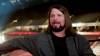 AJ Styles on work-life balance as a WWE Superstar