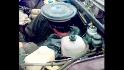 Lada със супер мощен мотор (руска му работа :d)
