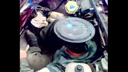 Лада с двигател / Lada with a unique engine