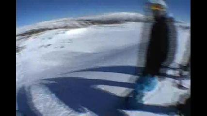 Ken Block на сняг със Subaru