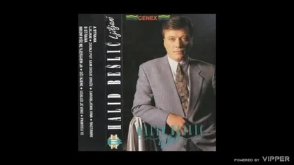 Halid Beslic - Zadnji put sam ovdje druze - (Audio 1991)