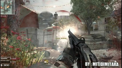 Call of Duty Modern Warfare 3 - Mini Headshot Movie [ paris ]