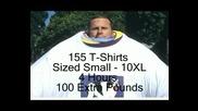 Мъж Облякъл 155 Тениски