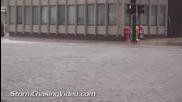 Наводнение в Шампейн , Илинойс 12.7.2014