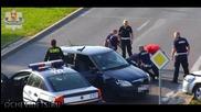 Полски полицаи не се шегуват,бързо приклещиха автоджигит!
