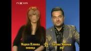 Господари На Ефира: Блиц Интервю Мария Илиева и Евгени Минчев 04.04.2008