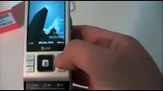 Sony Ericsson C905a (at T) - Unboxing Hands - On