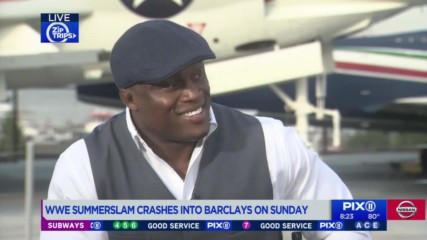 Bobby Lashley details how his military service prepared him to be a WWE Superstar