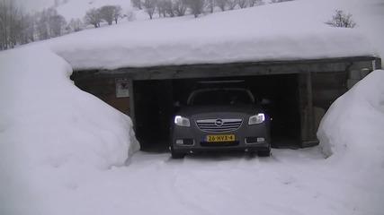 Opel Insignia Sports Tourer 4x4 In Snow