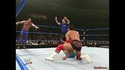 Chavo Guerrero & Paul London vs. Billy Kidman & Akio - Wwe Heat 2004