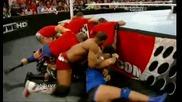 Wwe Raw 26.03.12 Booker T Спасява Теди От Марк Хенри И Се присъединявана Към Отбор