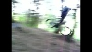 Downhill - Mountain Bike Crash