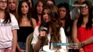 Muchmusic - Selena Gomez stops by New.music.live. May 30 2013