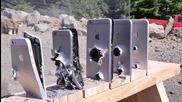 Колко Айфона са нужни за да спрат куршум на Ak-74