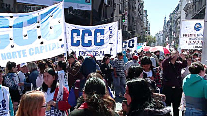 Argentina: Protesters call on politicians to back food emergency law