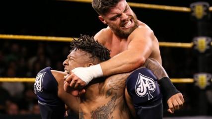 Jordan Devlin vs. Lio Rush – NXT Cruiserweight Championship Match: WWE NXT, Feb. 19, 2020