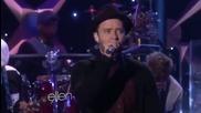Невероятно изпълнение! Justin Timberlake - T K O на живо в шоуто на Ellen