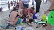 Shark Attack Victims were in Waist-deep Water