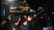Полицията спря протеста