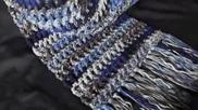 Как да си изплетем дебел зимен шал на вафлички