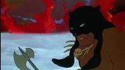 [2/2] Огън и Лед - Бг Аудио - класика / анимация (1983) Fire and Ice - animated classics [ hd ]