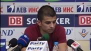Симеон Райков: Не искам да разочароваме верните фенове, те правят Левски голям клуб