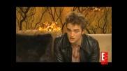 Robert Pattinson E! Online Interview