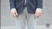 Как да носим тъмносин блейзър