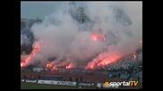 Levski Sofia Ultras 02.12.2007 - Sektor b